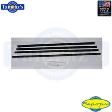 70-77 Maverick OE style Window Felt Weatherstrip Dew Sweep Feltkit Pcs