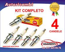 KIT 4 CANDELE NGK ALFA ROMEO BRERA 1.7 TURBO BENZINA 200 CAVALLI