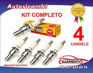 KIT 4 CANDELE NGK ALFA ROMEO GIULIETTA 1.4 TB TURBO BENZINA