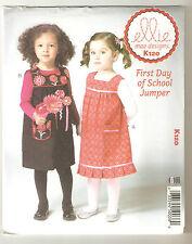 KWIK SEW Sewing Pattern K120 Toddler's Pinafore Dresses Sizes T1-T4