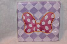 NEW MINNIE MOUSE BOW-TIQUE DREAM PARTY  LUNCHEON  NAPKINS  PARTY SUPPLIES