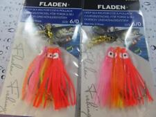 2 NEW 3 HOOK 6/0 OCTOPUS MUPPETS POR RIGS Cod Pollack Fishing Lure Sea Boat