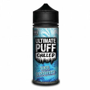 Ultimate Puff - Chilled - Blue Raspberry (100ml) + 2x Free Gifts - UK Stock