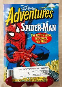 Disney Adventures Magazine SPIDER-MAN September 1995 Hot TV Shows Comics V 5 N13
