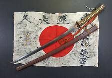 100% Genuine WW2 Japanese Army Military Officer Gunto Sword. Signed Kanetsugu