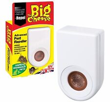 The Big Cheese Advanced Pest Repeller Ultrasound & Electromagnetic Action