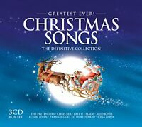 Various Artists - Greatest Ever Christmas Songs - Various Artists CD 8OVG The