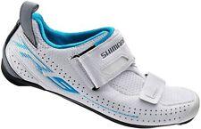 SHIMANO SH-TR9 Cycling Shoe - Women's Blue/ White. Size 8.5 US 41 EU (2413)
