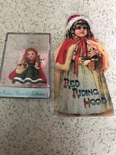 Hallmark Keepsake Mini Madame Alexander & Mini Story BookLittle Red Riding Hood