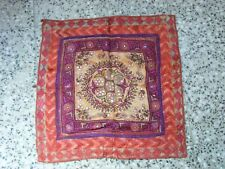 Antique Mughal beautiful hand embroidery Table Cover/Wall Hanging,Kutch