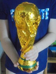 FIFA WM Pokal Fussball 1:1, selten, 36cm hoch, Top- Material