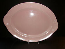 "Pink Luray 13"" Oval Platter"