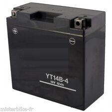 Batterie Moto YT14B-4 YT14B-BS Prête 12v 12Ah YAMAHA XJR 1300 SP / XV 1700 PC