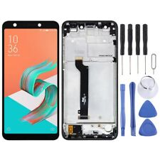 Per Asus ZENFONE 5 Lite X017DA LCD schermo Touch Digitizer vetro con telaio nero