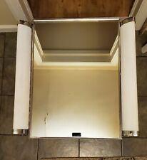 Vintage Art Deco Natcco Uni Lite Bathroom Vanity Mirror Light Medicine Cabinet