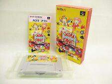 CACOMA KNIGHT Item ref/bcb Super Famicom Nintendo Japan Game sf