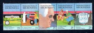 Micronesia Sc#116-120 MNH .25c rate