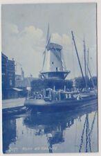 Netherlands postcard - Delft, Molen ald Haagweg - RP (A8)