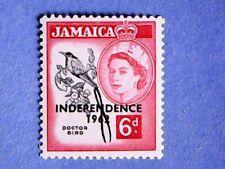 Jamaica. QE2 1962 6d Independence. SG186. Wmk Mult Script CA. P13. MNH