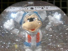 Vintage Walt Disney Productions Space Mickey Mouse Astronaut Snow Globe