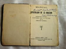 ANTIQUE PRAYER BOOK MINISTRY MANUAL 1919