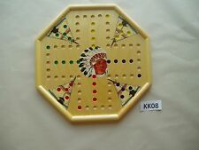 WAHOO WA HOO BOARD GAME  15 x 15 inch.  4 player with images.  Octagon  KK08