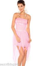 PASTEL PINK- GODDESS DRESS - Soft Flowing Design -S/M 10-12