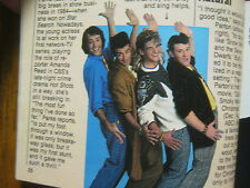 1986 TV Guide(THE  NEW  MONKEES/MARTY  ROSS/DINO  KOVAS/THE A-TEAM/SHELLEY HACK)