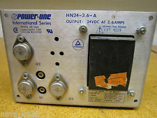 Power One HN24-3.6-A POWER SUPPLY TRIPLE OUTPUT 3.6AMP 24VDC