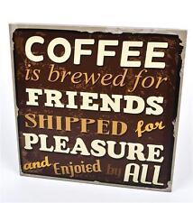 Deko-Bilder & -Drucke mit Werbung für Kaffee