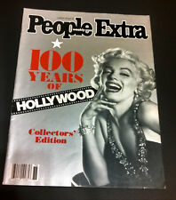 People Extra Movie Magazine Marilyn Monroe Cover 100 Years of Hollywood