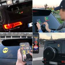Controlled Emoji Car LED Display Screen Nimated Bluetooth App For ios Android