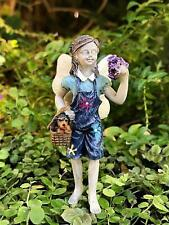 * Maggie and Toby * Miniature Fairy Garden 3″ Tall Nib Dog Puppy