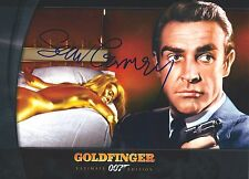 Sean Connery signed Goldfinger 8X10 photo - Photo proof - James Bond 007