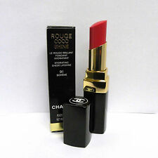 Chanel Rouge Coco Shine Hydrating Sheer Lipshine 91 Boheme 0.1 oz
