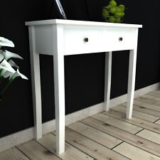 Dressing Console Hall Side Table Bedside 2 Drawer French Furniture Provincial