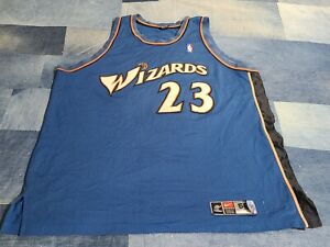 Vtg 90s NIKE Wizards Michael Jordan Stitched Team Issued game jersey shirt 56