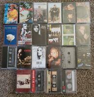 Classic Rock Cassette Lot 22 Rod Stewart, Chapman, Etheridge, Hoottie, Streisand