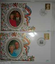 Royalty Great Britain Definitive First Day Covers (1971-Now)