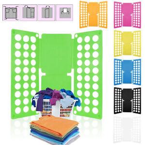 Clothes Folder Kid Kids Fast T-Shirts Magic Folding Board Laundry Organizer