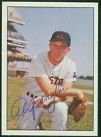Original Autograph of Al Spangler of the Houston Colt 45's on a 1978 TCMA Card
