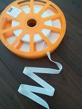 Flauschband zum Aufbügeln 20 mm weiß döfix aufbügelbar