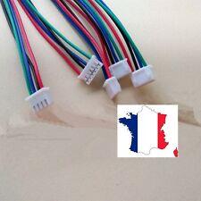 Câble pour moteur Nema 17 - longueur 1m - Nema 17 vers jst-xh  au pas de 2.54 mm