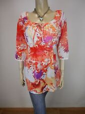 ESPRIT Crop Sleeve Top Size 8 As New - BUY Any 5 Items = Free Post