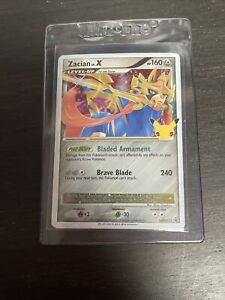 Zacian Lv. X SWSH135 Promo Holo Rare Nm Pokémon Card Celebrations