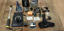 GoPro Hero4 Silver Edition 64 GB Camcorder - only lightly used
