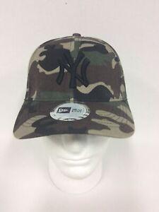 New Era NY Yankees 9FORTY Cap Camouflage Woodland Camo brand new hat
