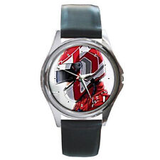 Capeta Race Track motocycle racer helment high speed leather wrist watch
