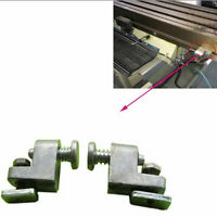 2pcs Bridgeport Milling Machine Part Power Feed Travel Stop CNC Vertical Mill