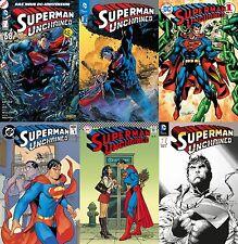 Superman desencadenado #1 alemán Variant-box 6 números + Impr Pant signed jim lee lim.99 ex